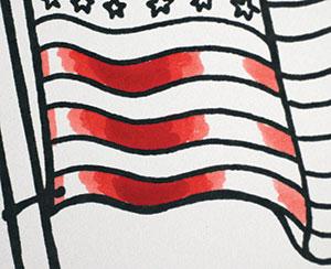 Copic Fabric Folds Photo 3