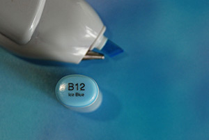 Copic bleaching Photo 4