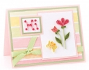 Cheerful Flowers Greeting Card