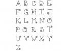 Curly-Q Alphabet