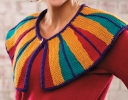 Uptown Color Block Cape