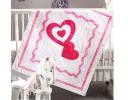 Baby Love Applique Quilt