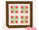 Carolina Tulips Wall Quilt