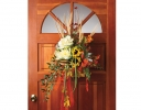 Cascading Autumn Walk Door Décor