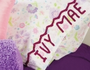 Infinity Crochet Alphabet & Pillowcase