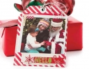 Christmas Greetings Tag Card