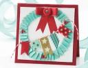 Washi Tape Wreath Card