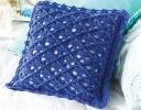 Lattice Stitch Pillow