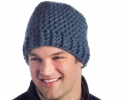 In-a-Jiffy Ribbed Hat