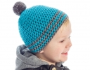 Easy Striped Boy's Hat