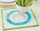 Shades of Sea Glass Pot Holder