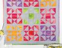 Sherbet Squares Pieced Quilt
