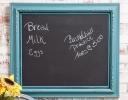 Easy Chalkboard Frame