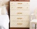 Elegant Stenciled Dresser
