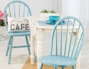 Blue & White Cottage Chic Table & Chairs