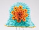 Shady Sun Hat With Columbine