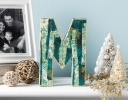 Festive Fabric Decoupage