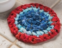 No-Sew Knotted Trivet
