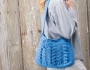 In-Style Cabled Shoulder Bag