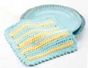 Easy Striped Dishcloth