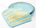Easy Striped Dishcloth