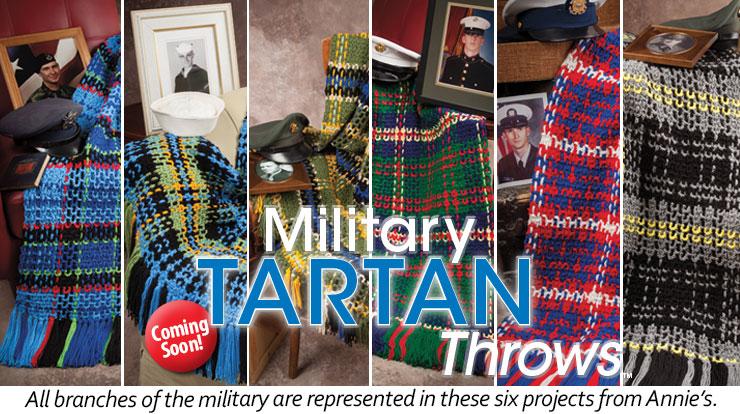 Military Tartan Throws