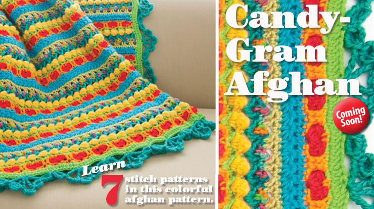 Candy-Gram Afghan