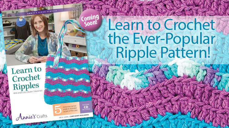 Learn to Crochet Ripples Class DVD