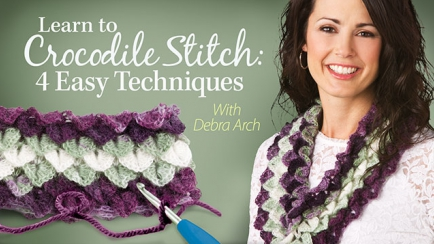 Learn to Crocodile Stitch: 4 Easy Techniques