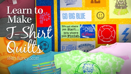 Learn to Make T-Shirt Quilts