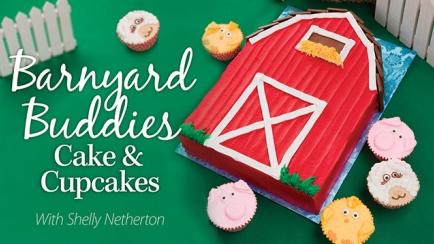 Barnyard Buddies Cake & Cupcakes