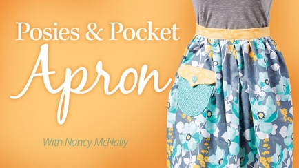 Posies & Pocket Apron