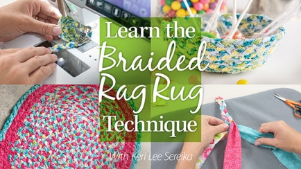 Learn the Braided Rag Rug Technique