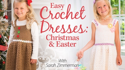 Easy Crochet Dresses: Christmas & Easter