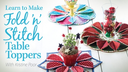 Learn to Make Fold 'n' Stitch