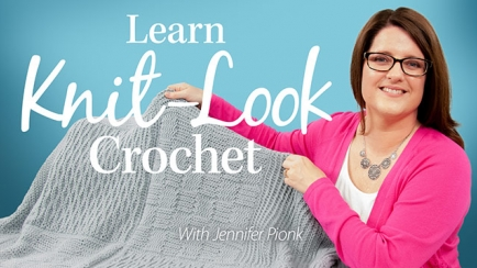 Learn Knit-Look Crochet