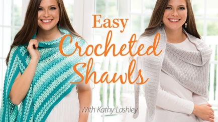 Easy Crocheted Shawls