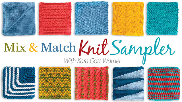 Online Classes: Mix & Match Knit Sampler