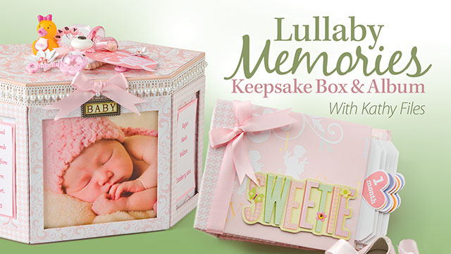 Online Classes: Lullaby Memories Keepsake Box & Album