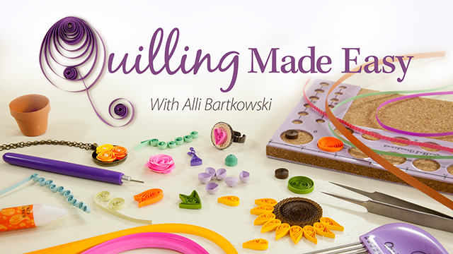Online Classes: Quilling Made Easy
