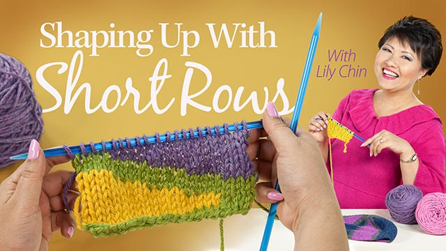 Online Classes: Shaping Up With Short Rows