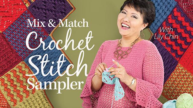 Online Classes: Mix & Match Crochet Stitch Sampler