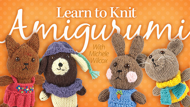 Online Classes: Learn to Knit Amigurumi