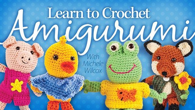 Online Classes: Learn to Crochet Amigurumi