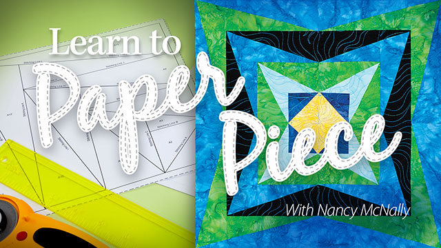 Learn to Paper Piece video