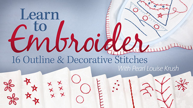 Online Classes: Learn to Embroider