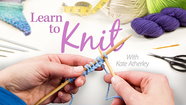 Online Classes: Learn to Knit