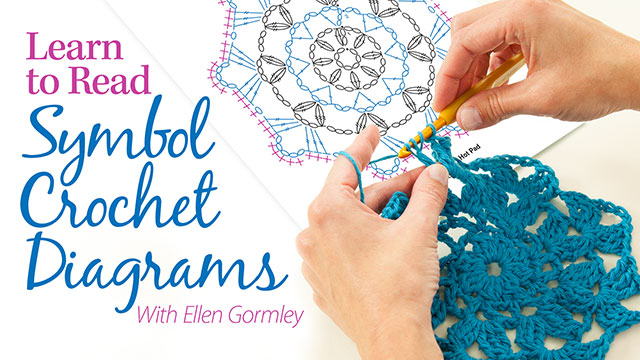 Online Classes: Learn to Read Symbol Crochet Diagrams