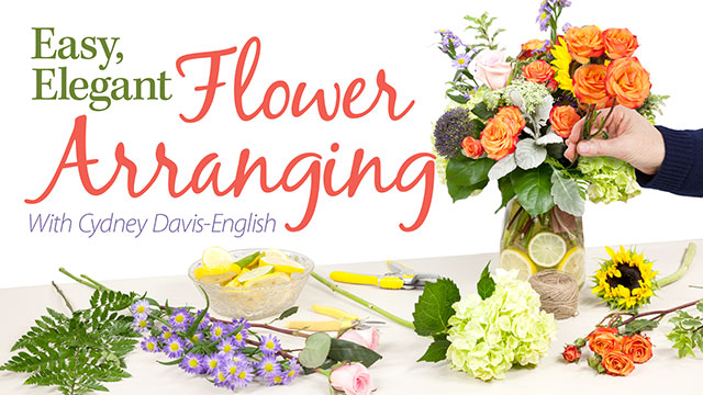 Online Classes: Easy, Elegant Flower Arranging