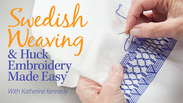 Online Classes: Swedish Weaving & Huck Embroidery Made Easy